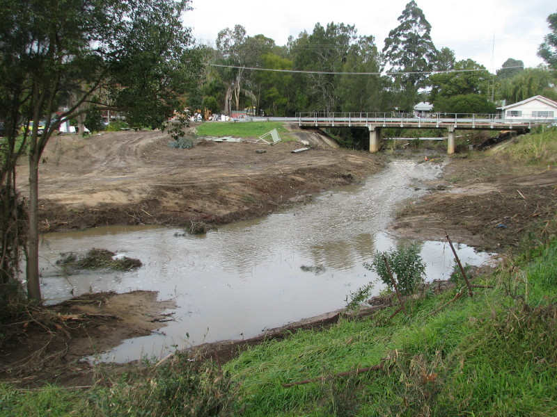 Council cleared out creek after flood, lost our whole riparian work!