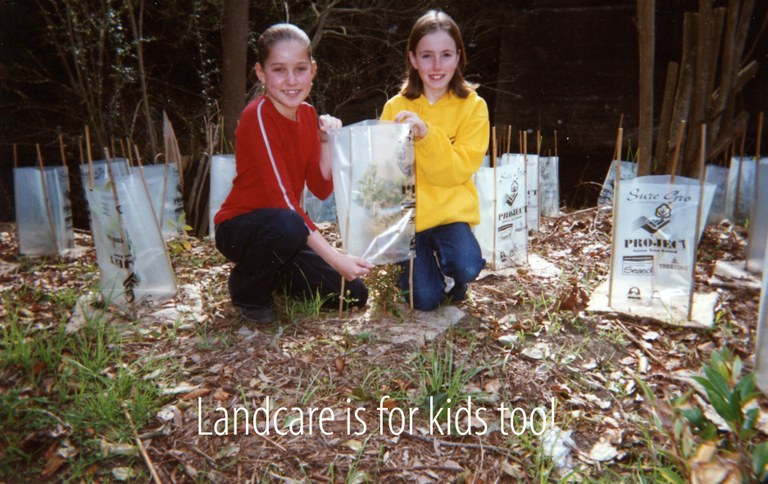 We're big on Junior Landcare too