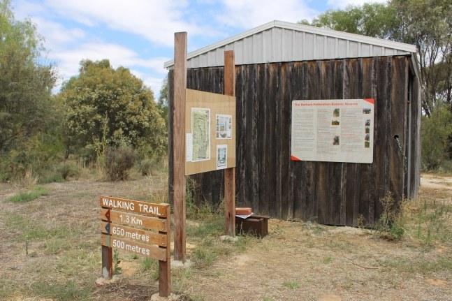 Reserve trail