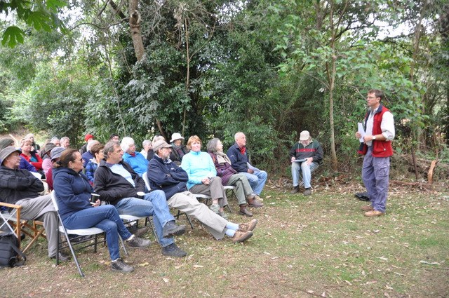 Al Stration talks about EECs and the Illawarra Subtropical Rainforest