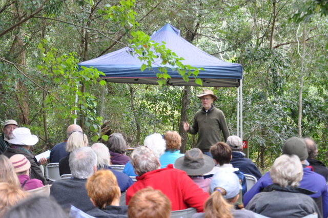 Will Armitage tells the story about the work done on Bundewallah Reserve