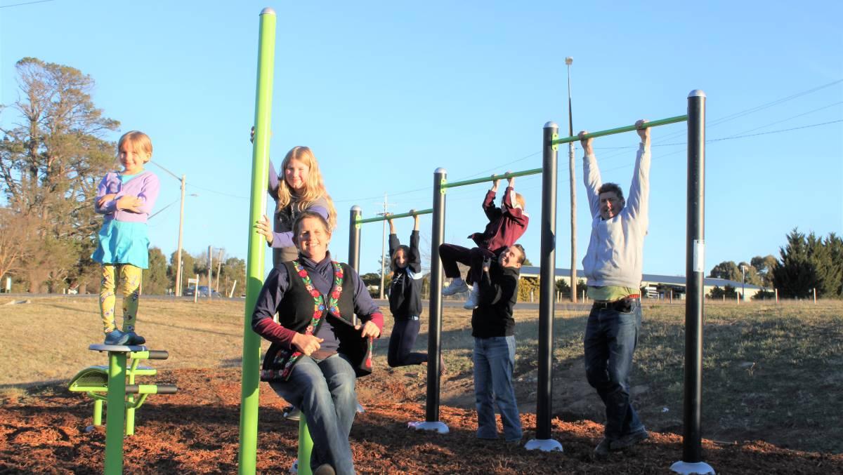 Annie and kids at Flood Creek Gym.jpg