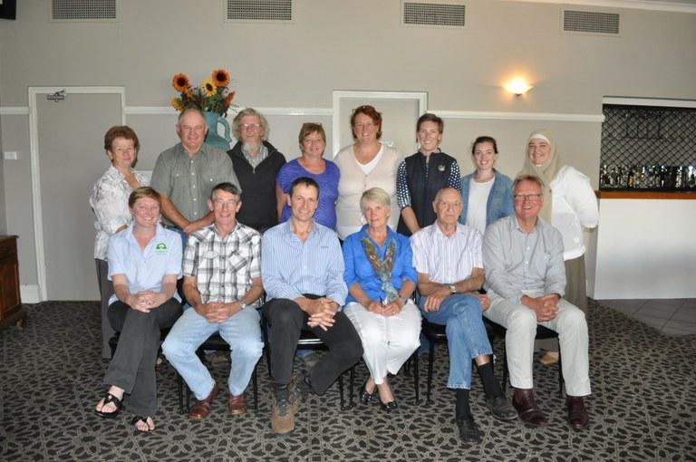NRM Working Group members, Parkes, November 2013
