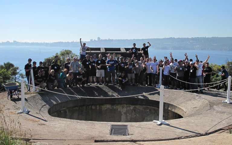 Landcare Australia Corporate Volunteer Day at Middle Head.