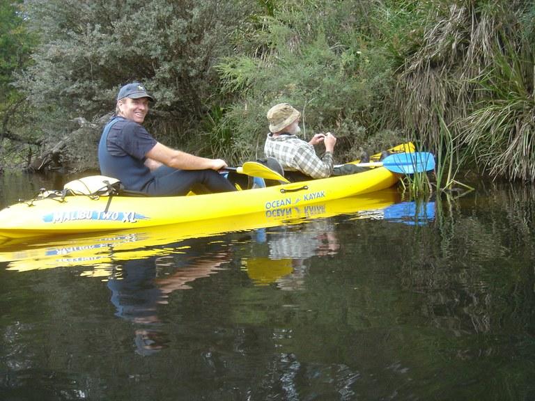 Canoeing Mongarlowe River