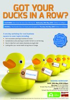 Got your ducks in a row?