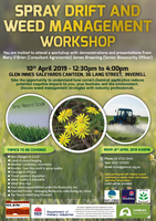 Spray Drift and Weed Management workshop
