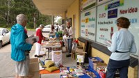 Koala fundraiser shines through rain