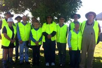 Volunteers and Council working together on weeds