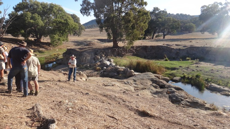 Rieds Flat member hosts erosion control workshop