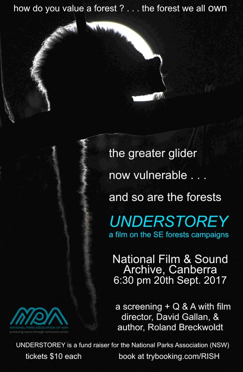 Film on Understorey, sponsored by NPA NSW, a K2C partner