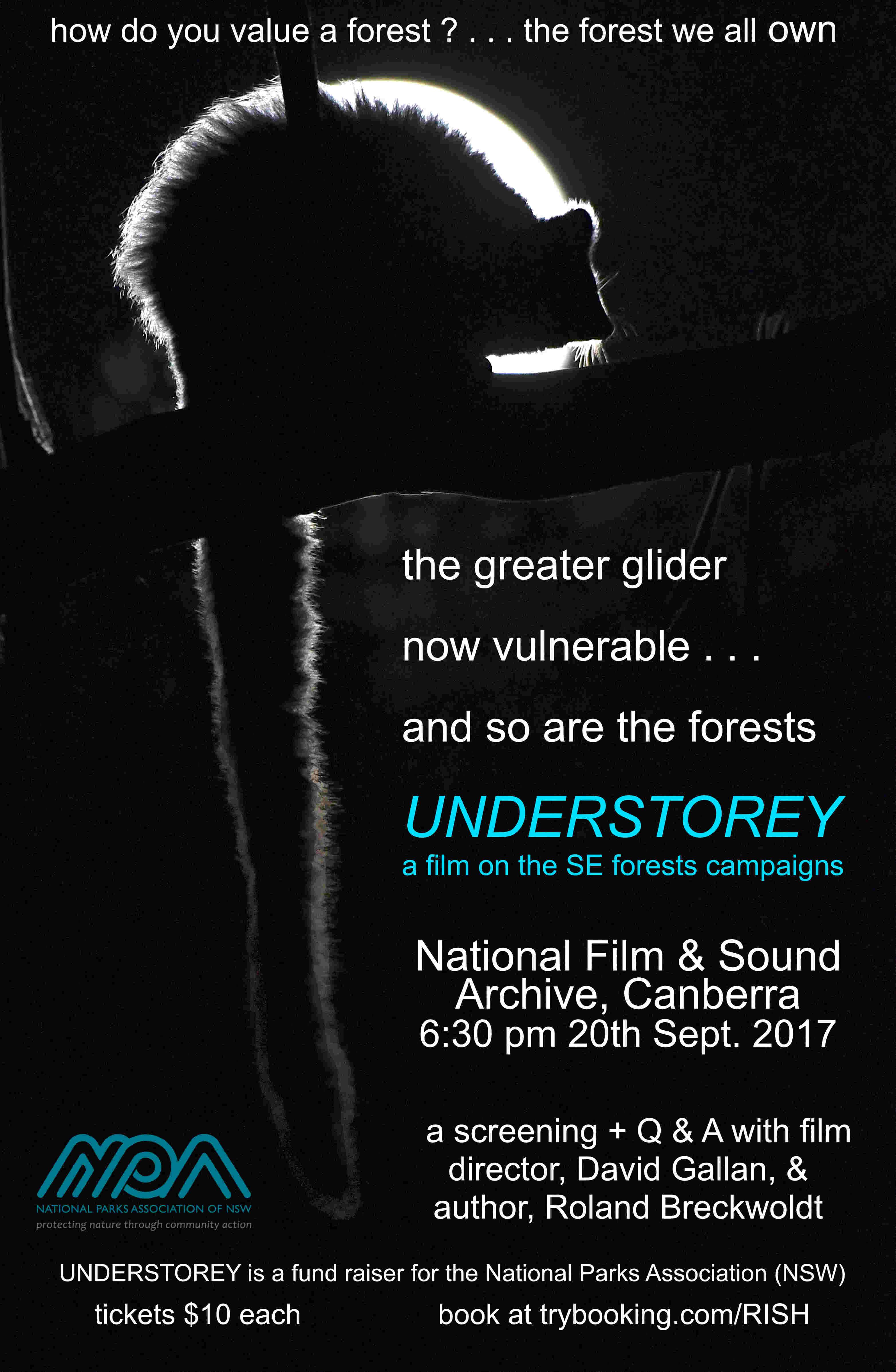 Film on Understorey, sponsored by NPA NSW, a K2C partner