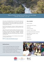 Rivers of Carbon: Feeling Fishy Field Day at the Yass Gorge Sat, 7th April 2018