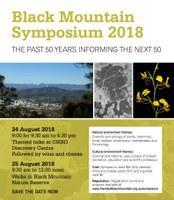 Black Mountain Symposium 2018