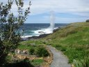 Blowhole working