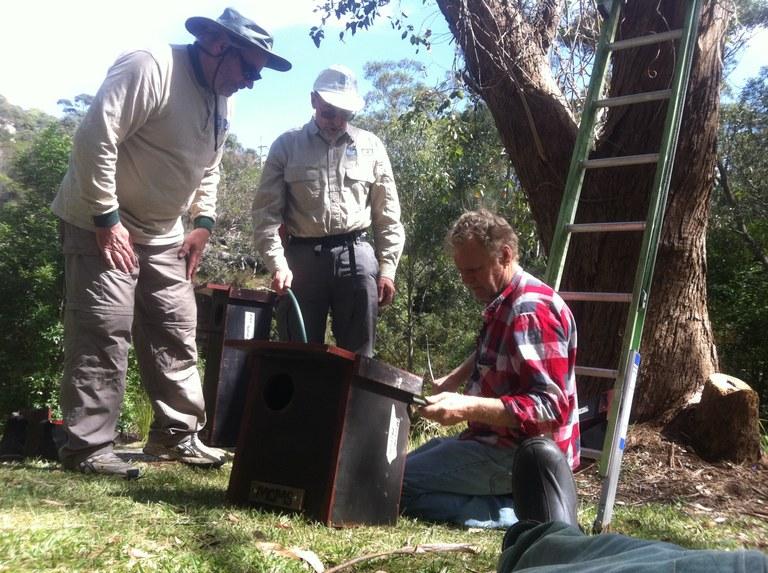 Installing Wildlife Nesting Boxes