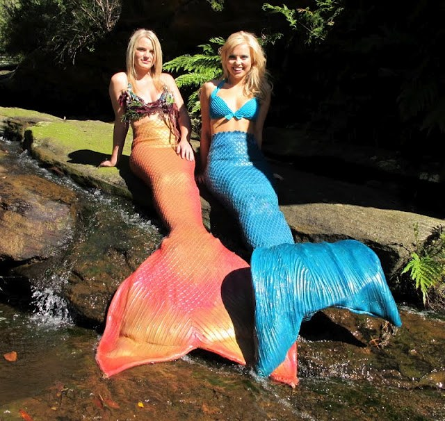 Mermaids at Mermaid Pool