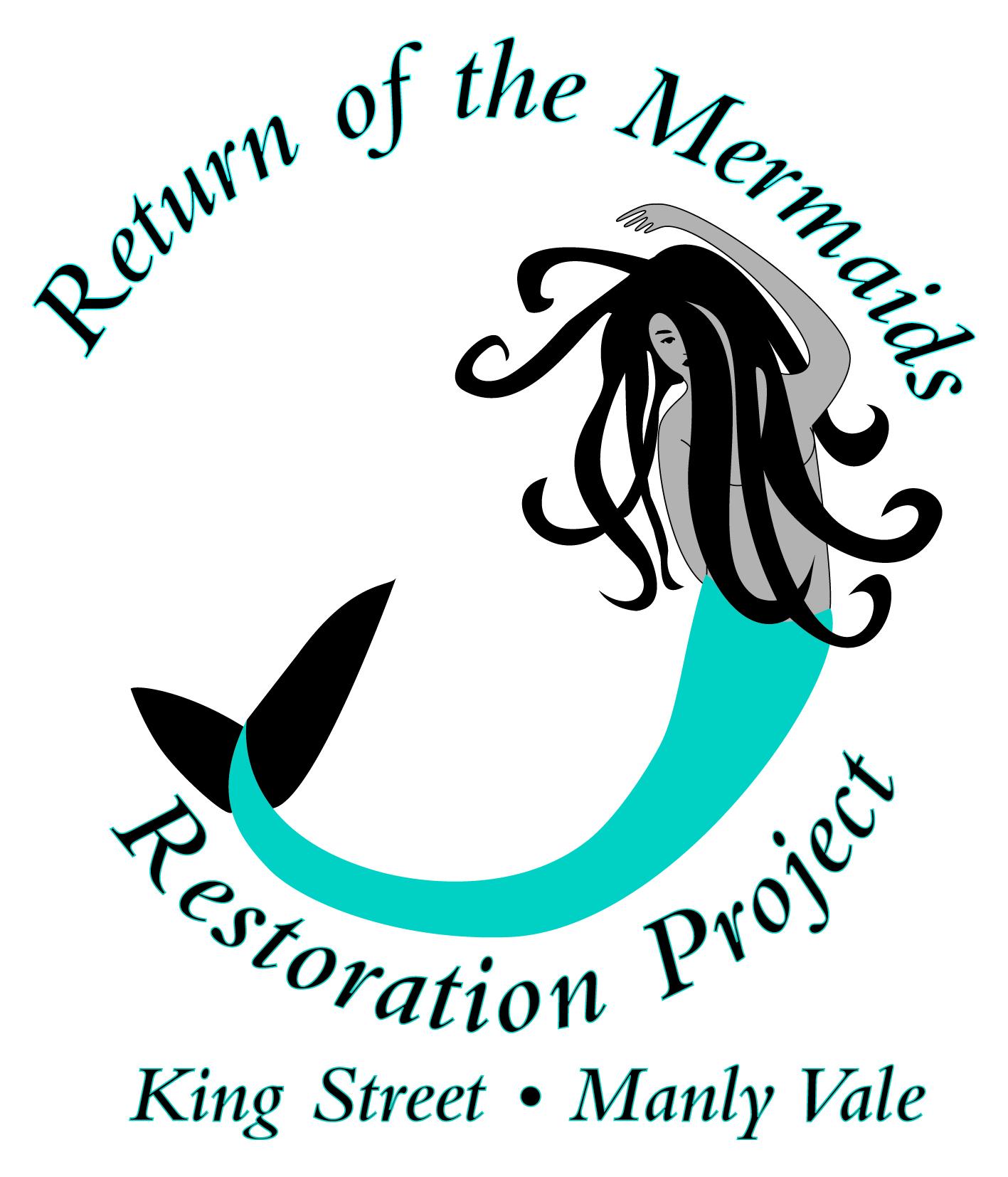 """Return of the Mermaids"" logo"