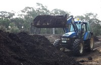 On-farm compost-making workshop