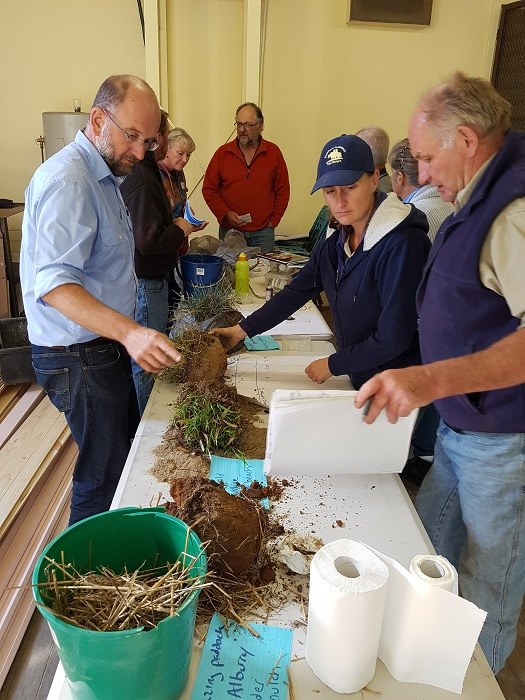 Learning practical soil assessment skills with David Hardwick