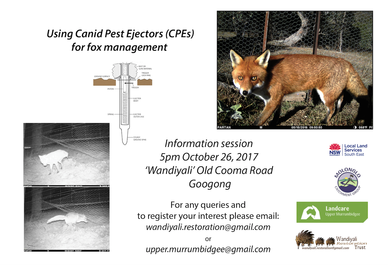 Canid Pest Injector information session