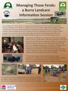 Managing those ferals: A Burra Landcare Information Session