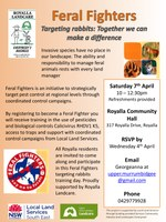 Royalla Feral Fighters training workshop