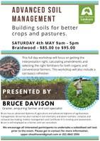 ADVANCED SOIL MANAGEMENT: Building soils for better crops and pastures.
