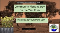 Celebrating National Tree Day on Yass River